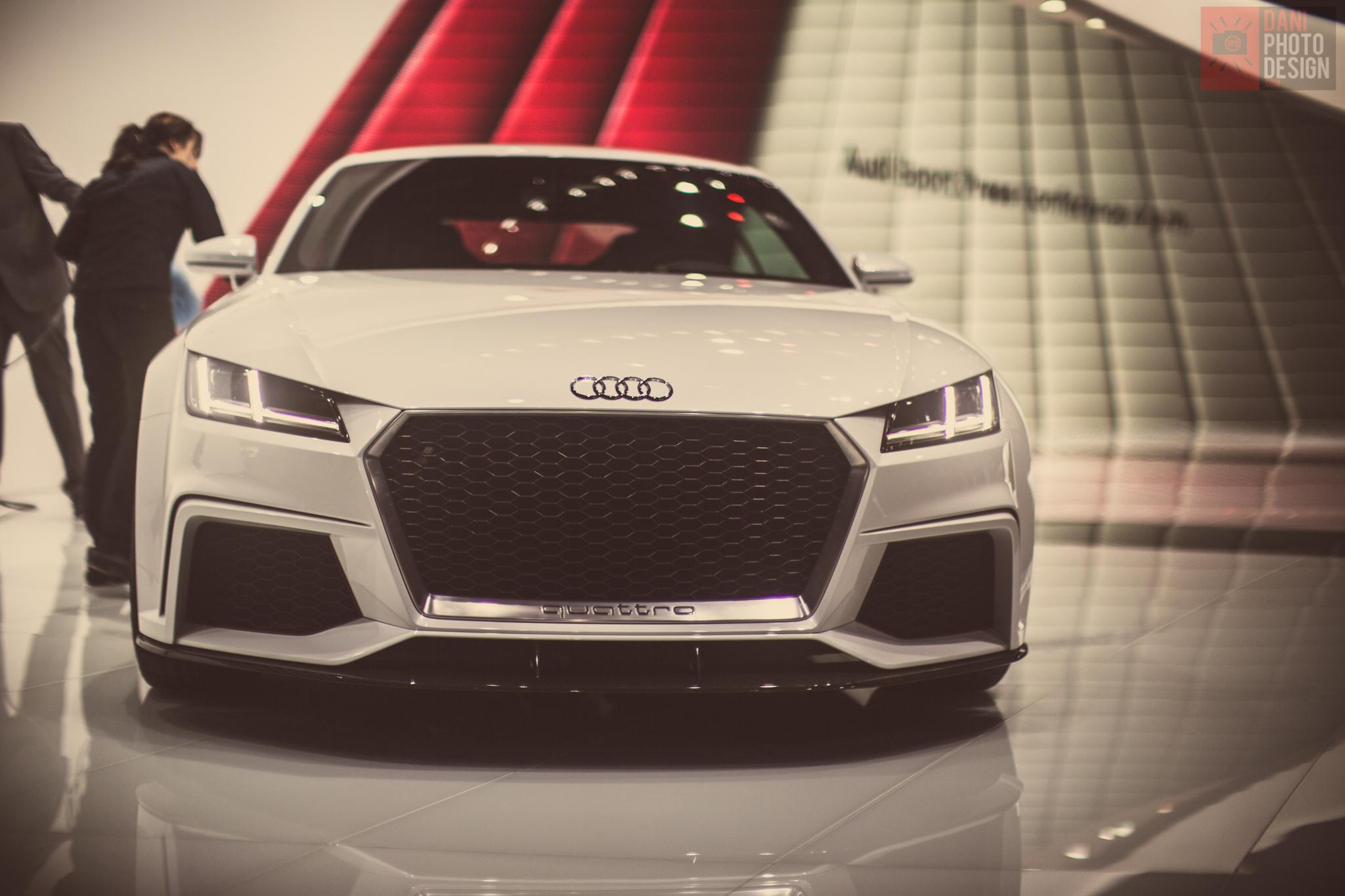 Audi TT quattro Geneva 2014